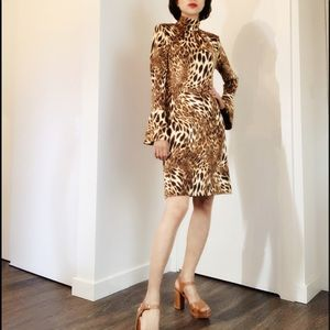 VTG Cheetah Printed Dress
